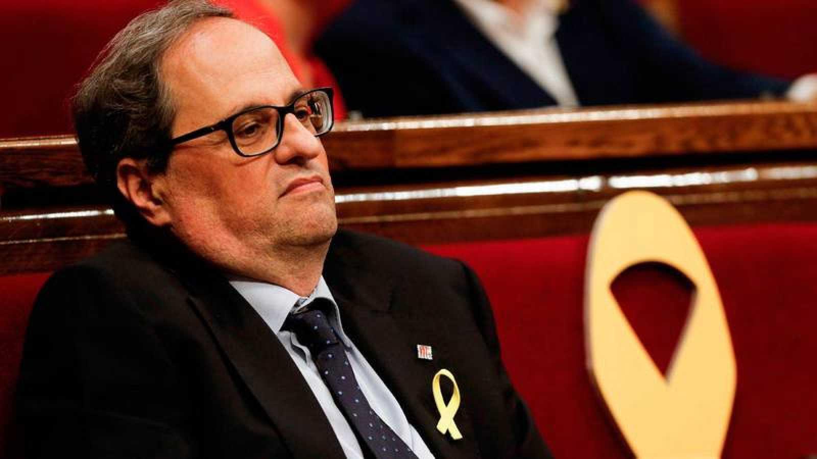 El Parlament escenifica las grietas del separatismo