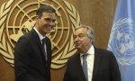 Pedro Sánchez, encantado de haberse conocido y de que lo conozcan en la ONU