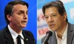 Bolsonaro y Haddad, a por la presidencia de Brasil