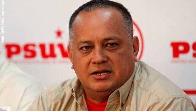 Venezuela. El 'número dos' de la dictadura chavista, Diosdado Cabello.