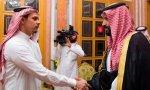 La Casa Real árabe recibe a familiares de Khashoggi