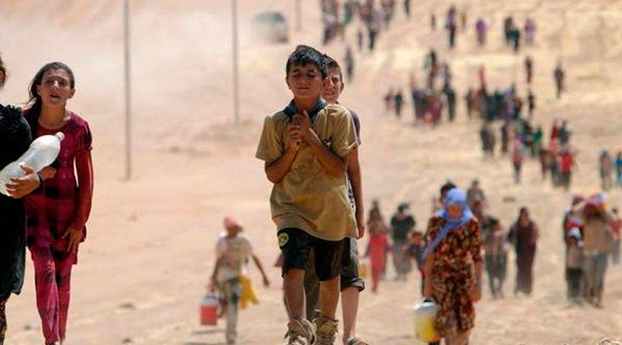 Irak: miles de personas, muchas de ellas cristianas, huyen de Ramadi para no morir a manos del Estado Islámico