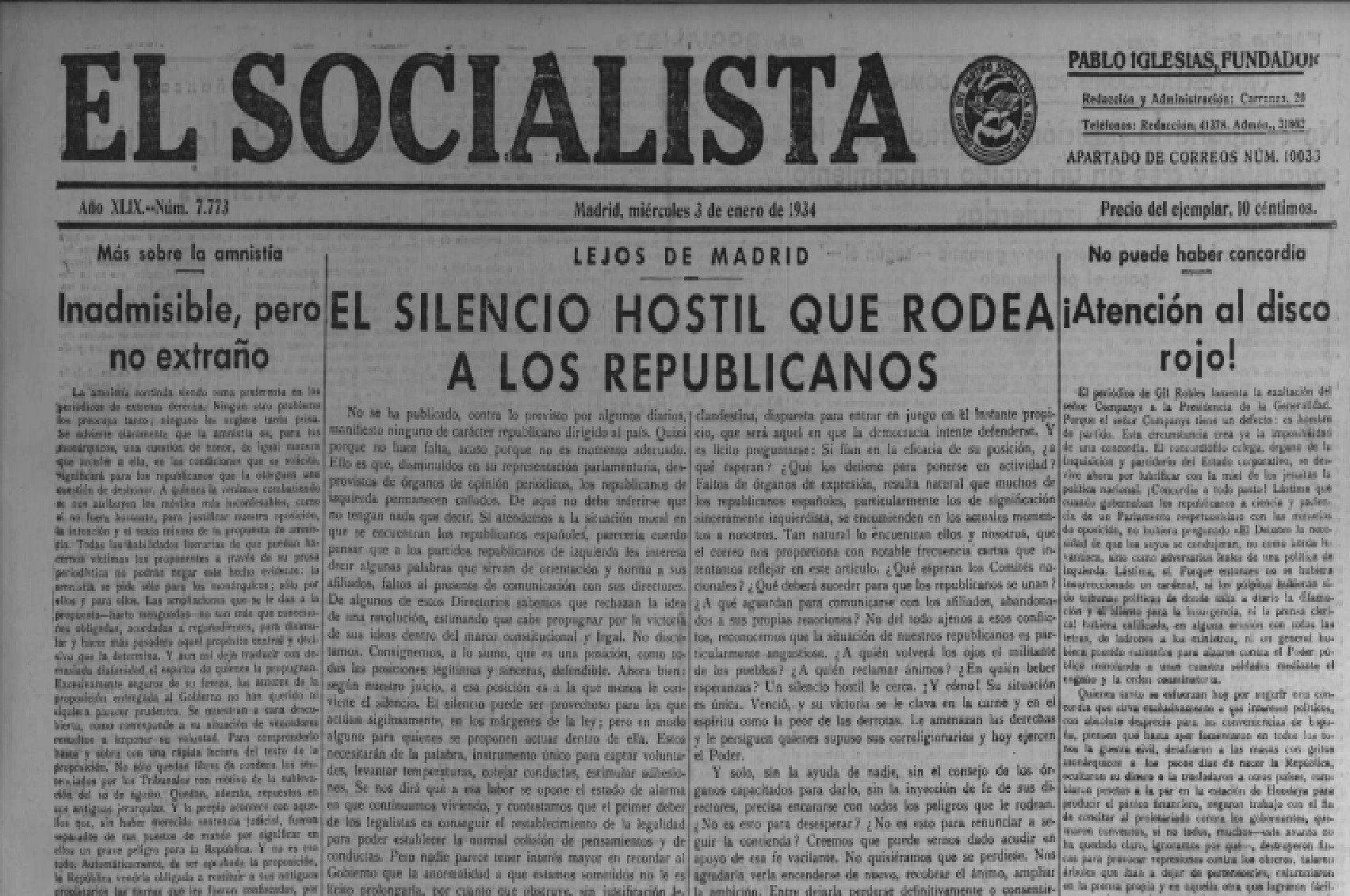 """Estos acontecimientos del golpe de Estado de 1934 son los que se han falseado con el nombre de """"Revolución de Asturias"""""""