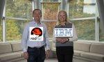 Jim Whitehurst (Red Hat) y Ginni Rometty (IBM) alaban la operación