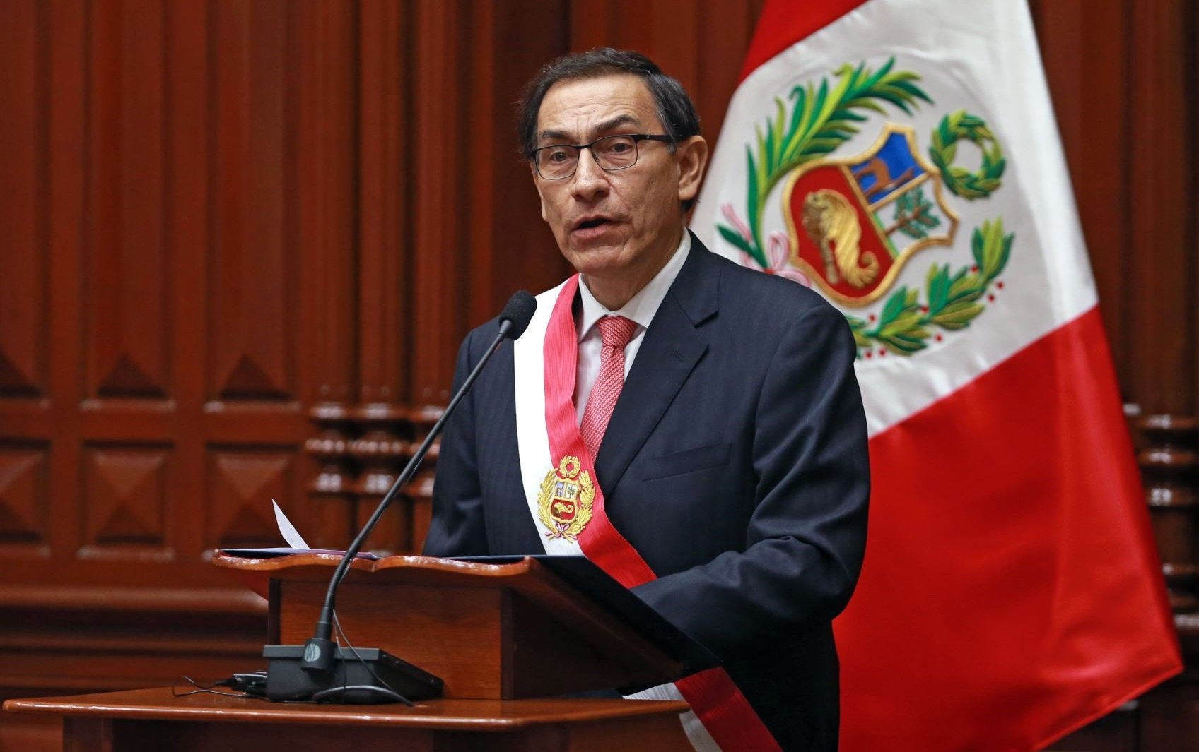 Martin Vizcarra, presidente peruano