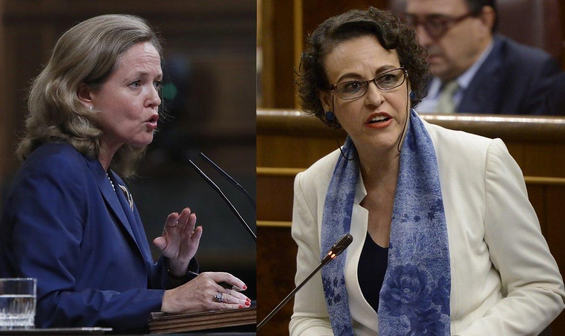 Las ministras Calviño y Valerio ya discreparon en la revalorización de las pensiones con el IPC...