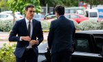 Pedro Sánchez a su llegada al Congreso Nacional de la Empresa Familiar