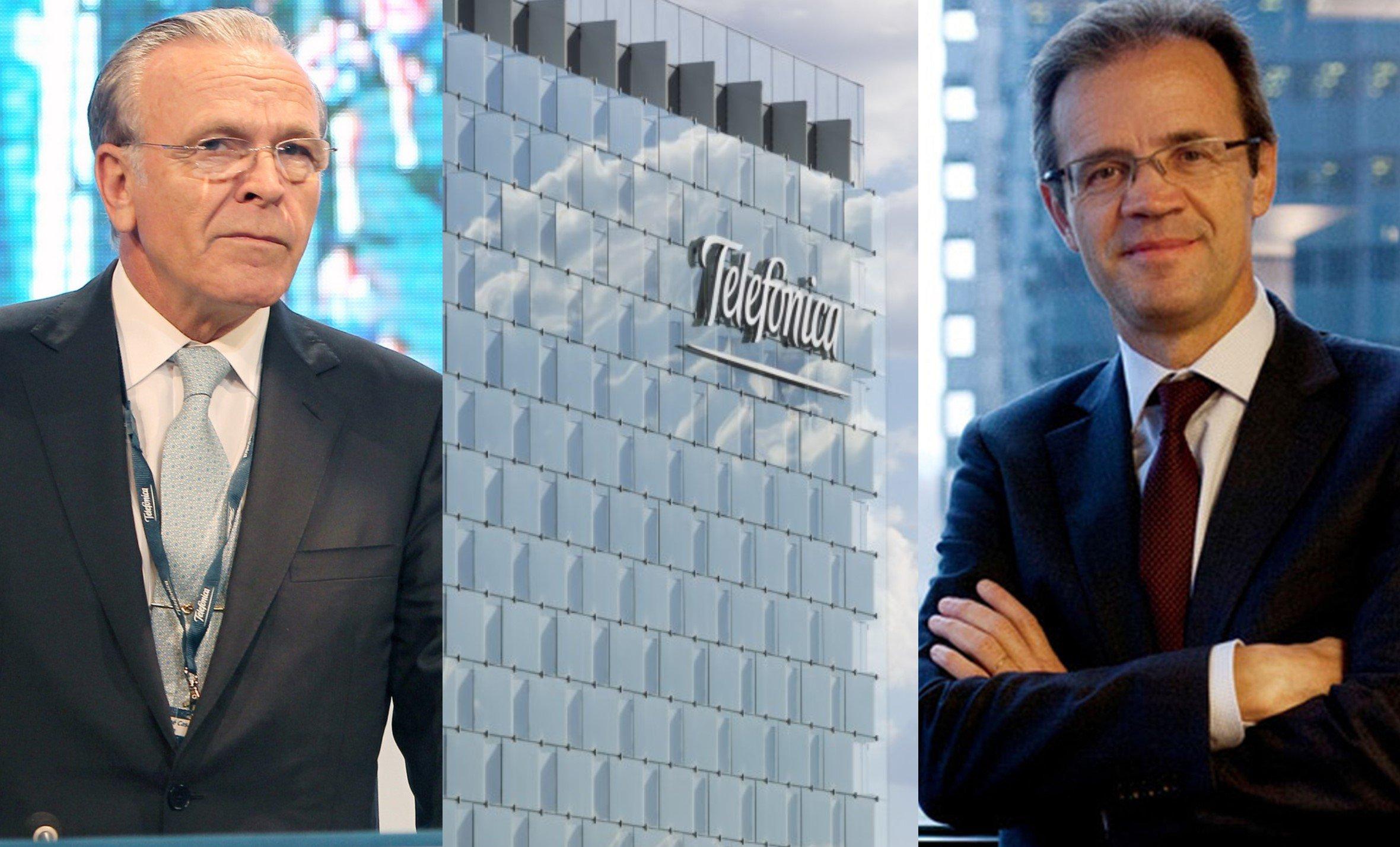 El paso de los representantes de Criteria, Isidro Fainé y Jordi Gual, en Telefónica aumentaría al ritmo del incremento de su participación