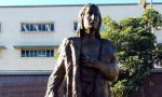Las autoridades de Los Ángeles retiraron ayer la estatua de Cristóbal Colón situada en Grand Park