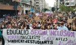 El Sindicato de Estudiantes oragnizó una manifestación el pasado 14 de noviembre a favor de la educación sexual
