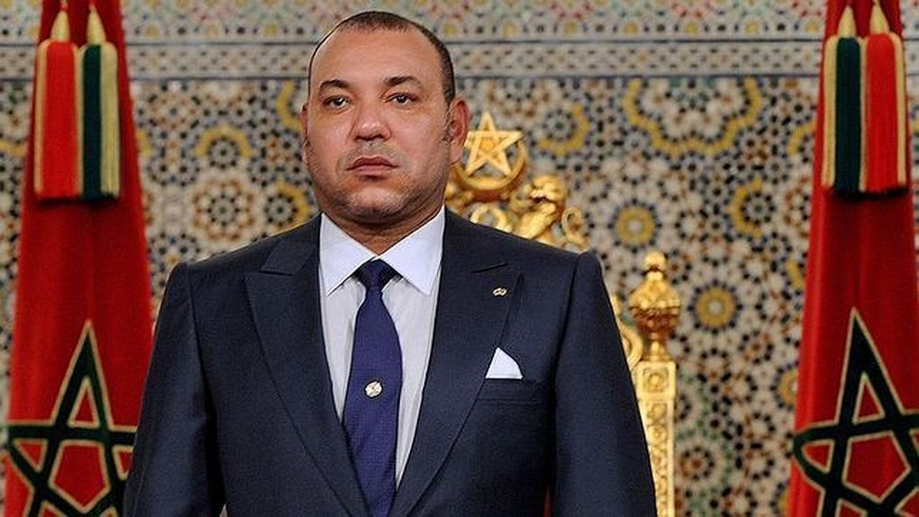 Mohamed VI rey de Marruecos