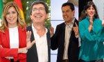 Los candidatos andaluces se enfrentaron ayer a un debate a cuatro