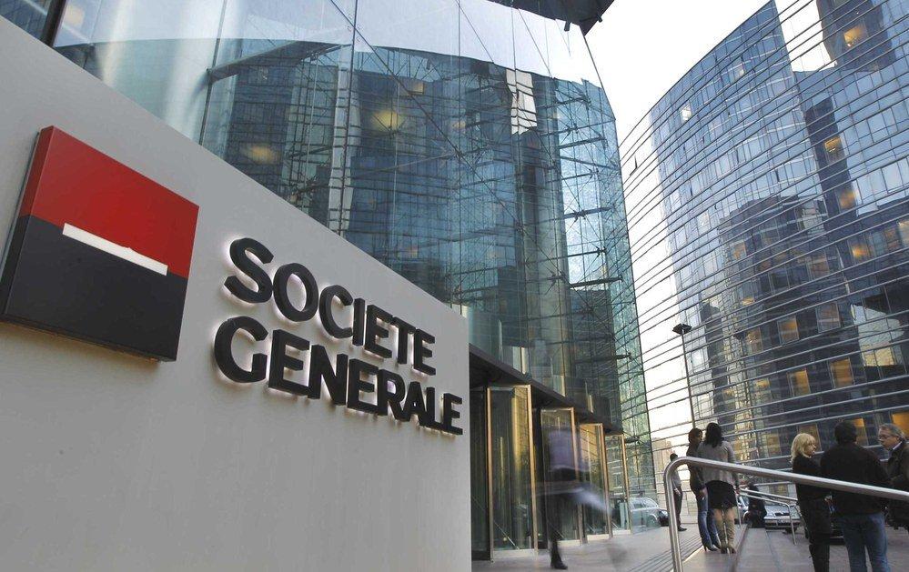 El banco francés Société Génerale ganó 2.594 millones de euros hasta septiembre, un 24,5% menos