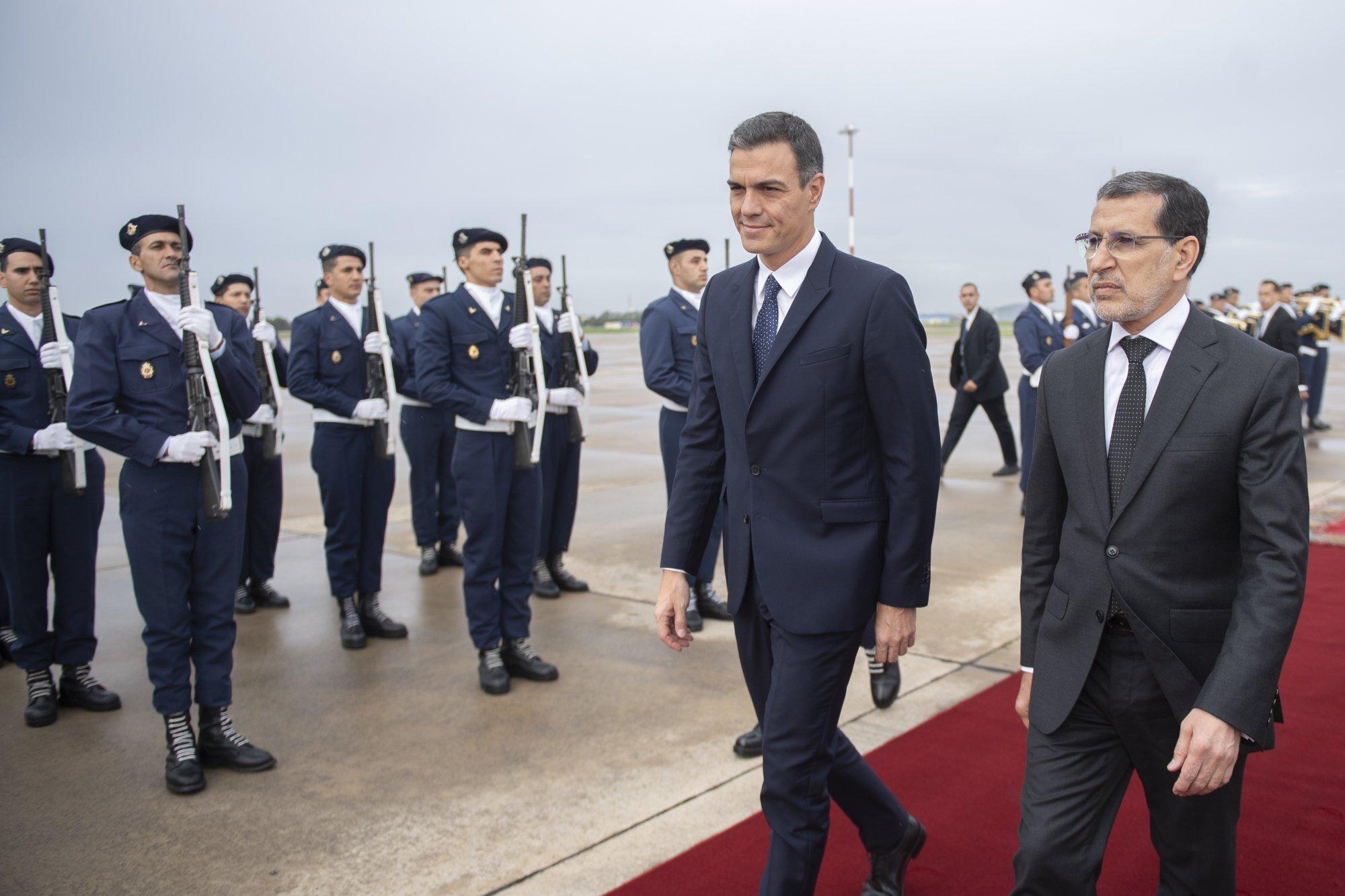 Pedro Sánchez visitó el mausoleo de un dictador en su visita a Marruecos