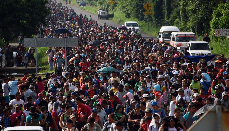 La caravana que partió de San Pedro Sula. Urgen acuerdos transversales en cuestiones migratorias