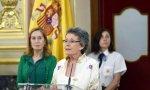 Rosa María Mateo se ha tomado muy en serio el cargo de administradora provisional única