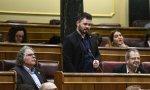 Se reanuda la sesión. Abre el día Gabriel Rufián, portavoz de ERC en el Congreso