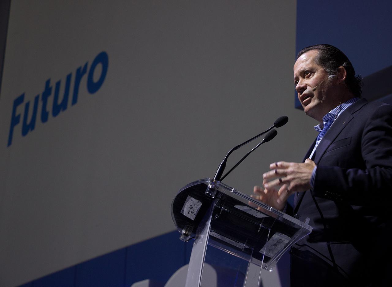 Juan Carlos Escotet culpa a la prensa y no explica por qué Liberbank no le ha dejado ver sus cuentas