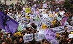 Manifestación feminista en Madrid, el pasado 25 de noviembre