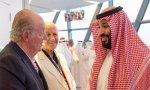 Juan Carlos I saludó a Salman, mientras la izquierda sigue vendiendo armas a Arabia Saudí