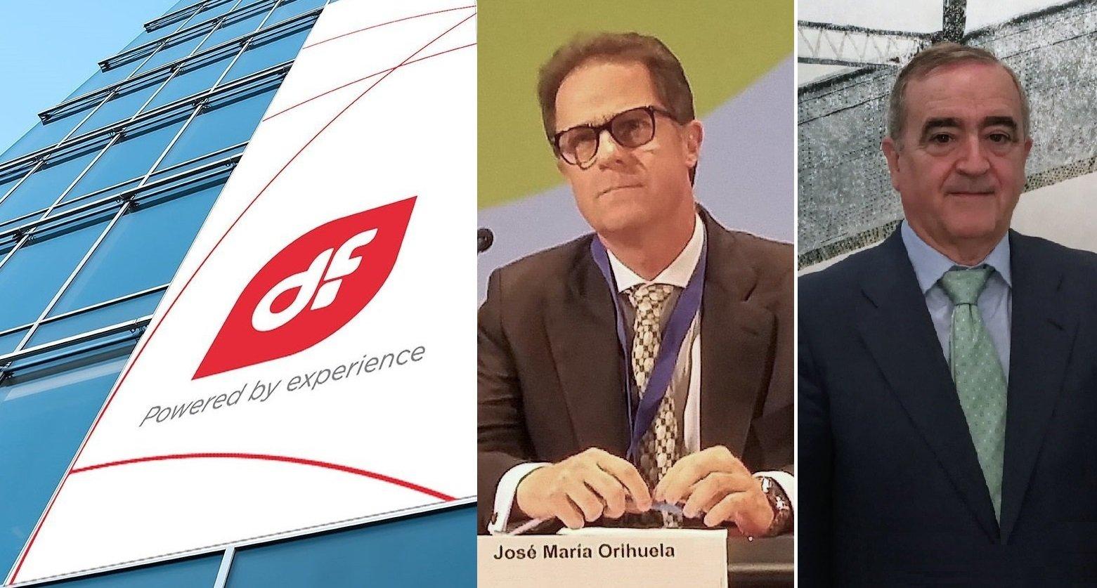 José María Orihuela, CEO, y Acacio Rodríguez, presidente de Duro Felguera