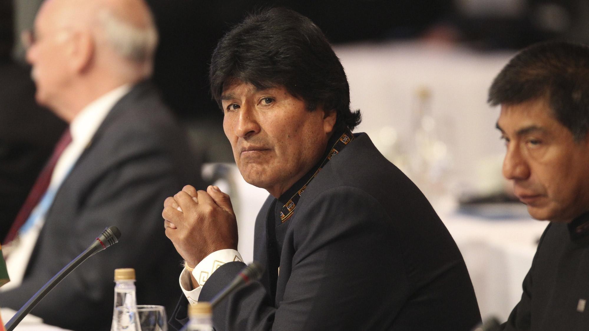 Evo Morales quería perpetuarse en el poder...