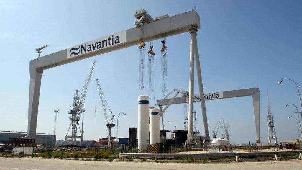 Navantia tiene perspectiva de un mejor futuro