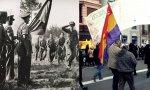 Banderas republicanas en 1936 y 2018. Iglesias acusa a Vox de anticonstitucionalista pero exige la III República