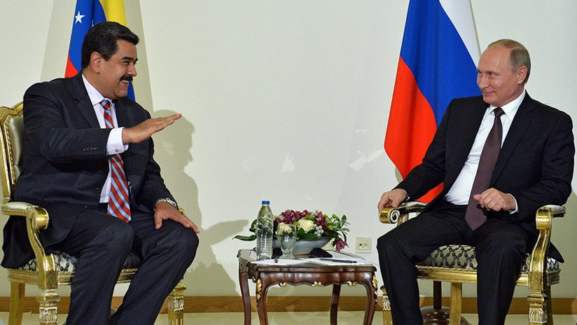 Putin echa un cable al dictador Maduro y le envía dinero en efectivo