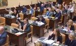 Las enmiendas de Carlos Salvador (UPN) han sido rechazadas con 22 votos en contra y 15 abstenciones
