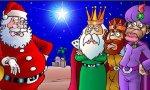 Papá Noel pisa los talones a los Reyes Magos, que afortunadamente, aún siguen ganando el partido
