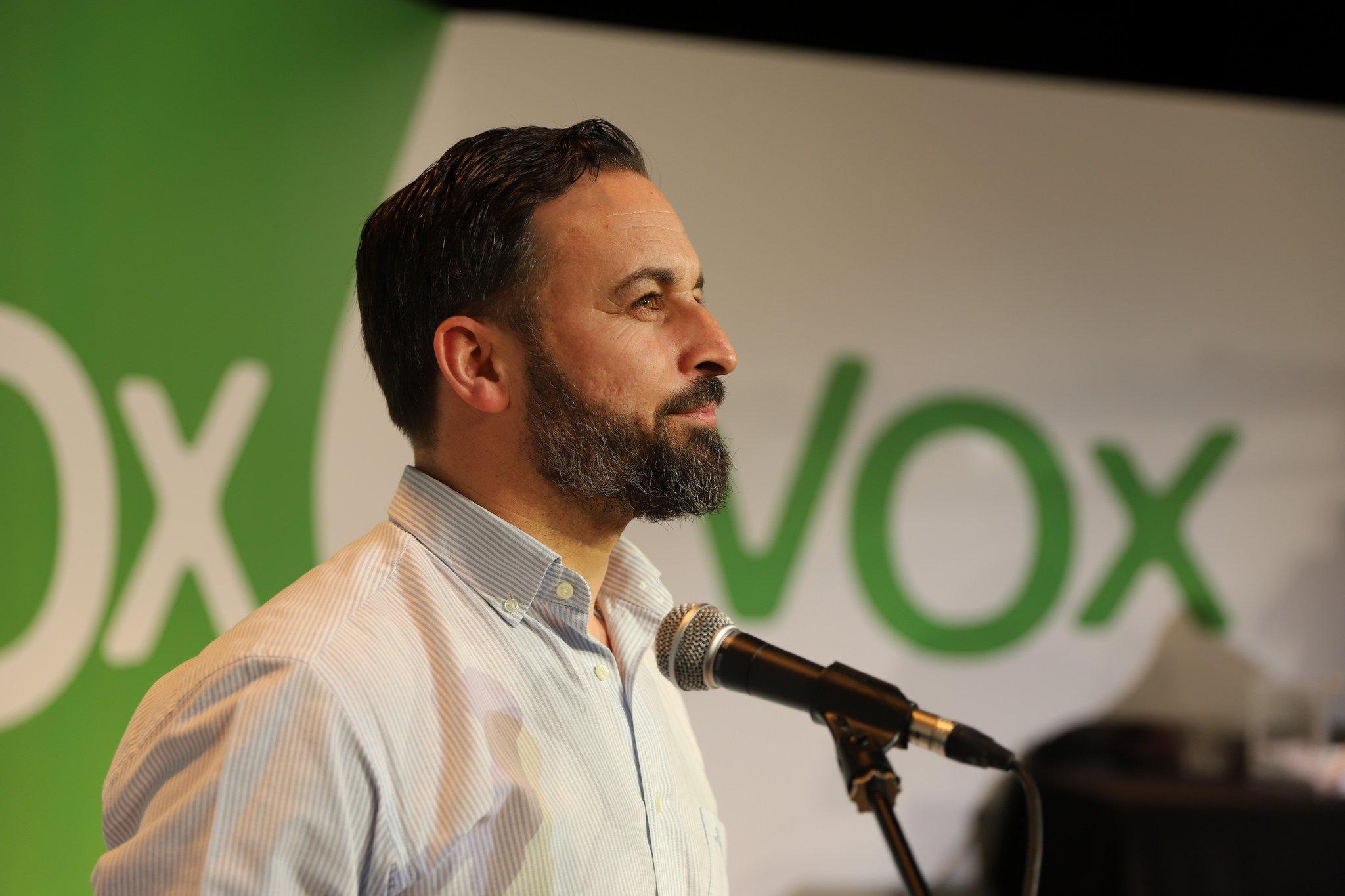 Santiago Abascal, líder de Vox, avisa a PP y Cs que no permitirá el desprecio a sus votantes