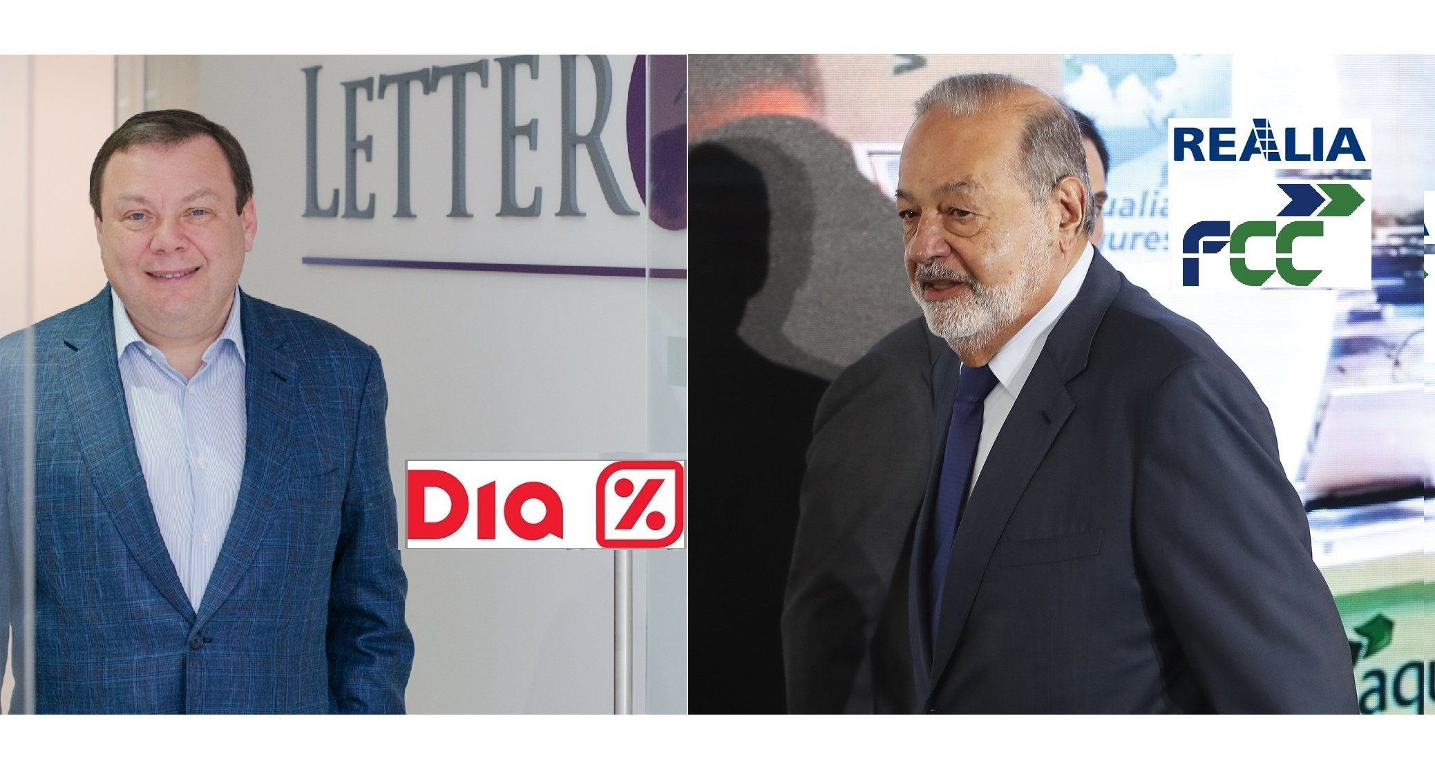 Slim y Fridman se quedarán con Realia y DIA a precios de saldo. Así se malvende la empresa española