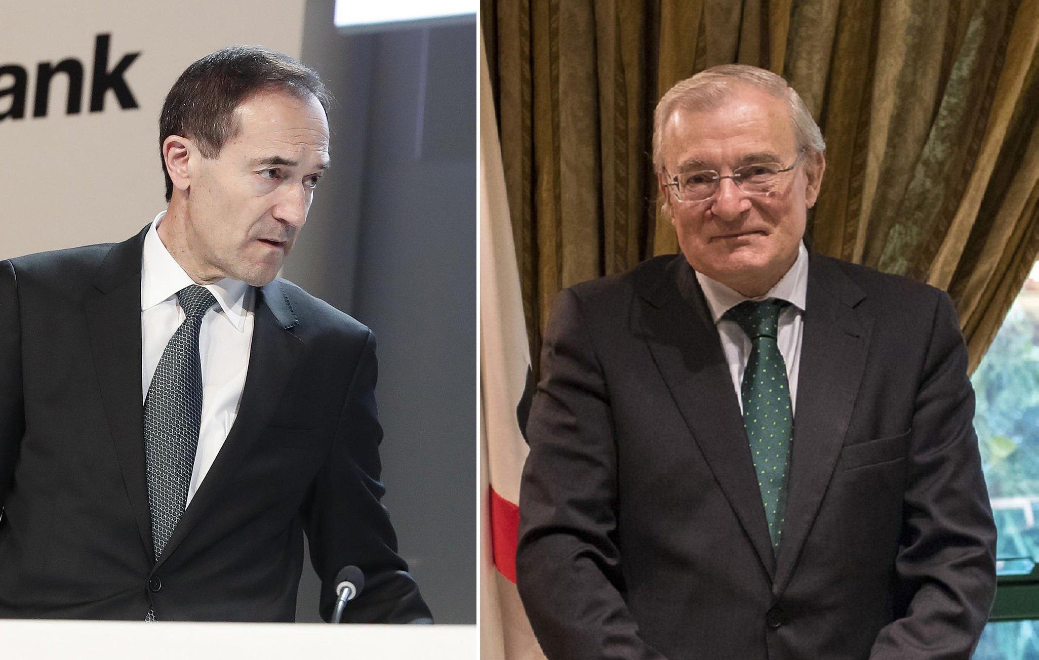 Manuel Menéndez (izquierda) y Manuel Azuaga