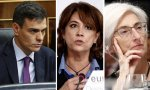 Sánchez, Delgado y Segarra: la consigna es no herir a los independentistas.