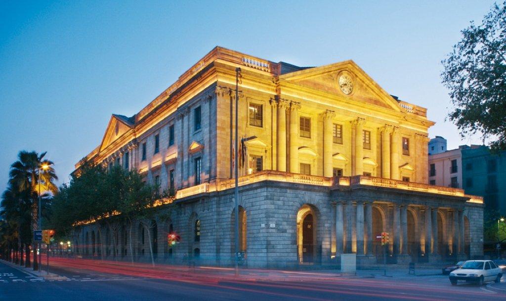 Casa Llotja de Mar en Barcelona, donde se celebrará el Consejo de Ministros del viernes 21-D