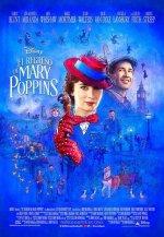 Cartel de El regreso de Mary Poppins