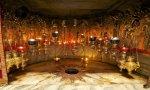 Lugar exacto donde nació Jesús, hoy situado dentro de la Basílica de la Natividad en Belén