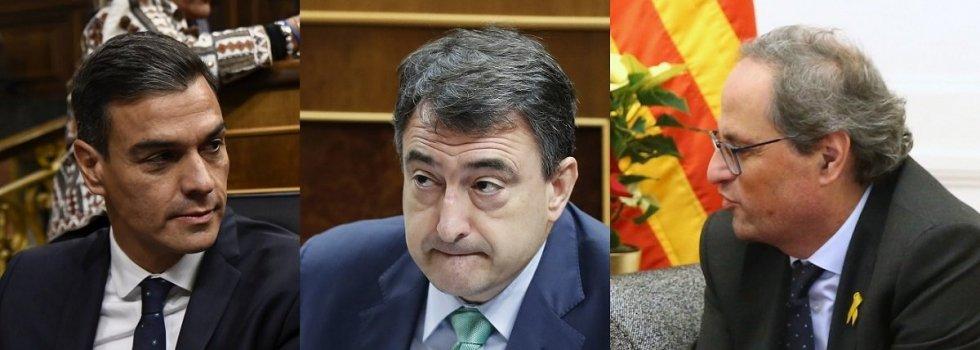 Sánchez ha envalentonado a la burguesía independentista vasca (PNV) y catalana (PDeCAT)