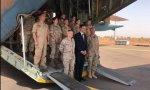 Sánchez visita a las tropas españolas destacadas en Mali