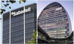 Sedes de Sabadell y BBVA