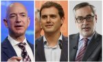 Jeff Bezos, Albert Rivera, José Manuel Villegas
