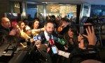 Santiago Abascal se ha estrenado este lunes en el Club Siglo XXI sin aclarar su postura sobre el aborto