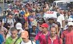 Caravana hacia EEUU desde Honduras