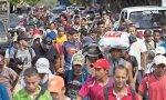 Caravana hacia EE.UU. desde Honduras