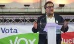 El portavoz de Vox, Francisco Serrano
