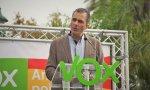Javier Ortega Smith durante una campaña electoral