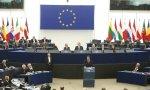 Pedro Sánchez en el Parlamento Europeo