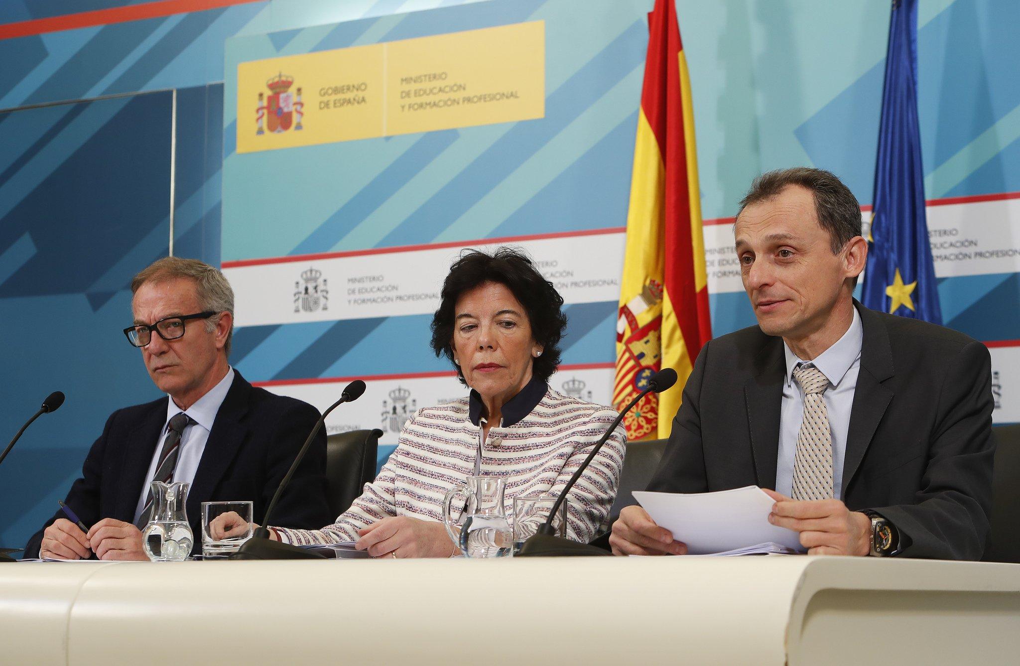 José Guirao, Isabel Celaá y Pedro Duque... amigos para siempre