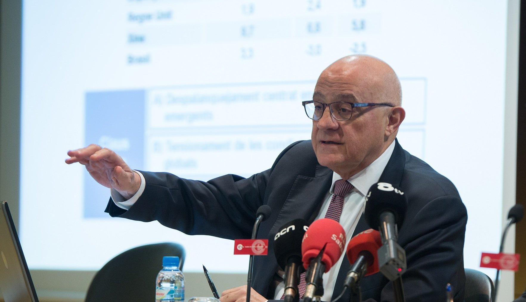 Josep Oliu sabe que los resultados que el Sabadell presentará el 1 de febrero no serán buenos